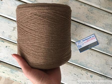 Нить-основа (шлёнка) для прядения ручной работы на заказ