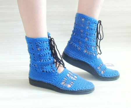 Летние ботинки ручной работы на заказ