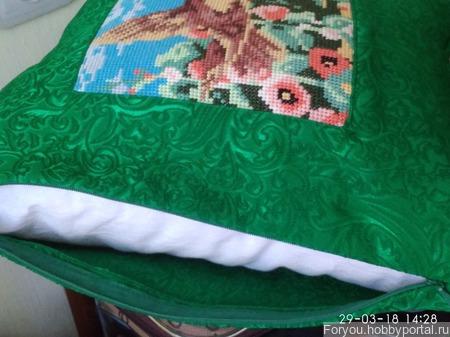 Подушка Лето ручной работы на заказ
