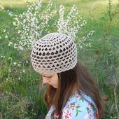 Летняя шапочка №4