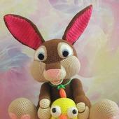 Игрушка Кролик и цыплёнок