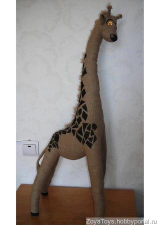 """Игрушка интерьерная """"Жираф"""" ручной работы на заказ"""