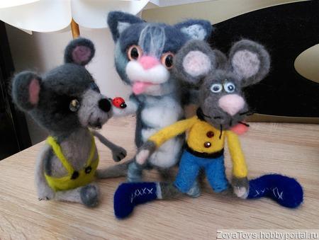Валяные игрушки ручной работы на заказ