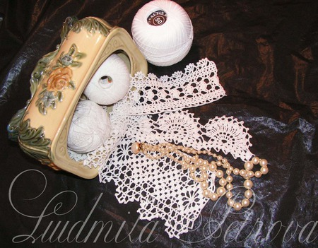 Кружево ручной работы вязаное ручной работы на заказ