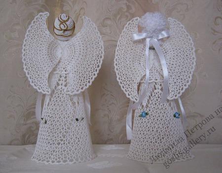 Ангелочки вязаные крючком ручной работы на заказ
