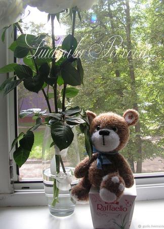 Любимый медвежонок ручной работы на заказ
