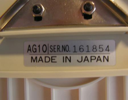 Каретка интарсии AG 10 для Silver Reed LK100, LK140, LK150, Япония ручной работы на заказ