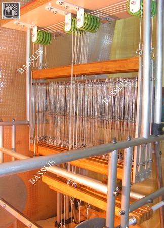 Ручной ткацкий станок «BASSLIS1» (пять ремизных рам) ручной работы на заказ