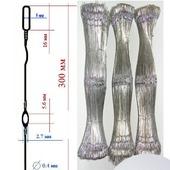 Галева металлические для ткацкого станка