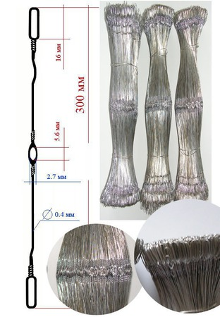 Галева металлические для ткацкого станка ручной работы на заказ