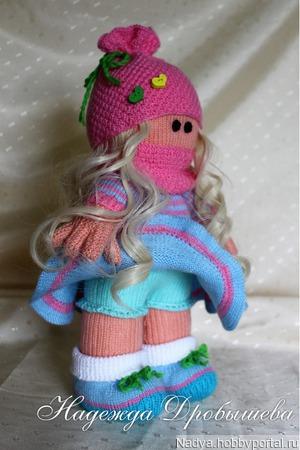 Кукла Машенька ручной работы на заказ