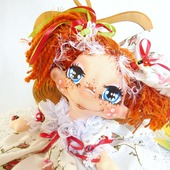 Текстильная кукла Маленькая принцесса