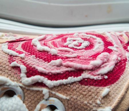 """Кеды женские 3D с ручной росписью """"Сахарные розы"""" ручной работы на заказ"""