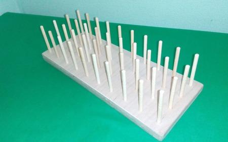 Подставка для ниток (40 катушек) ручной работы на заказ