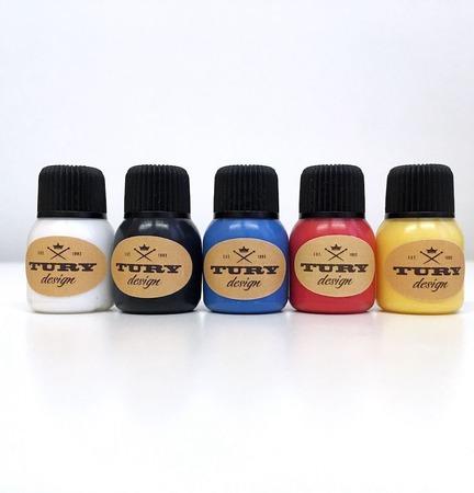 Пробный набор акриловых красок Tury Design Mini 5 ручной работы на заказ