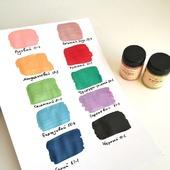 Акриловые Перламутровые краски Tury Design Di-7