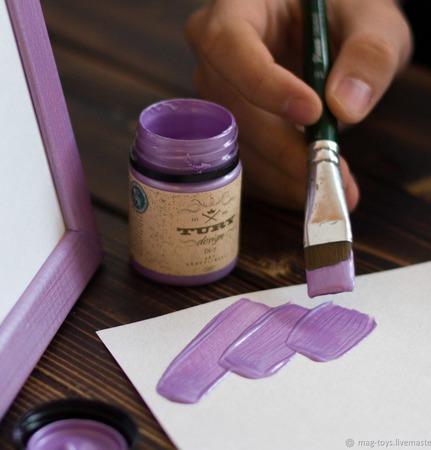 Акриловые Перламутровые краски Tury Design Di-7 ручной работы на заказ