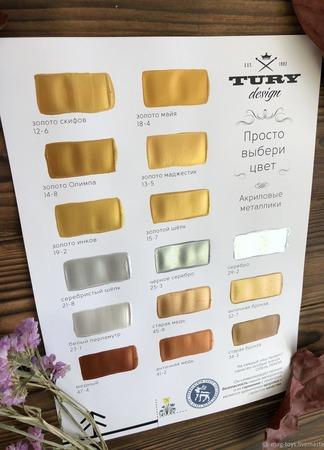 Металлайзеры Tury Design Di-7 ручной работы на заказ