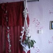 Декоративная подвеска для цветочного горшка