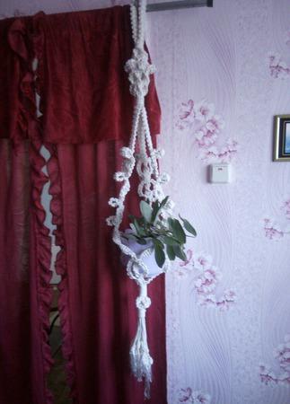 Декоративная подвеска для цветочного горшка ручной работы на заказ