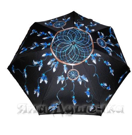 """Зонт с росписью """"Ловец снов"""" ручной работы на заказ"""