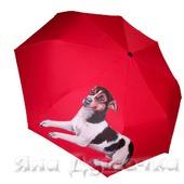 """Зонт с росписью на заказ с портретом собаки """"Той-терьер"""""""