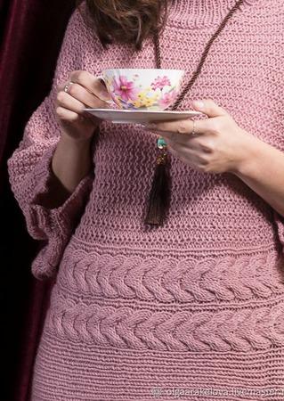 """Пуловер-кимоно """"Эстери"""" ручной работы на заказ"""