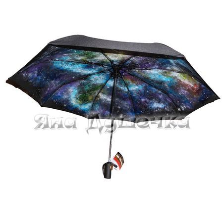 """Зонт с ручной росписью """"Космос"""" ручной работы на заказ"""