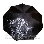 """Зонт с ручной росписью """"Знаки Зодиака: Близнецы"""""""