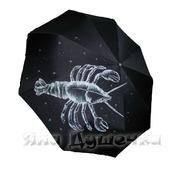"""Зонт с ручной росписью """"Знаки Зодиака: Рак"""""""
