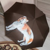 Зонт женский с рисунком Борзая по фото