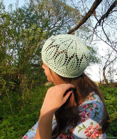 Летняя шапочка №5 ручной работы на заказ