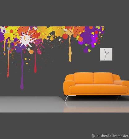 Роспись стен ручной работы на заказ
