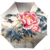 """Зонт ручной работы """"Китайская роза"""""""
