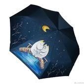 """Зонт женский с рисунком """"Муми Тролли"""""""