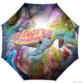 """Зонт с рисунком """"Бескрайний космос"""""""