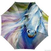 """Зонт женский с рисунком """"Лошадь"""""""