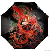 """Зонт женский с рисунком """"Феникс"""""""