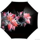 """Зонт женский с росписью """"Магические цветы"""""""