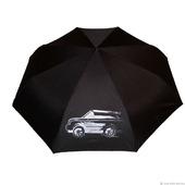"""Зонт мужской с ручной росписью """"Автомобиль Ренж Ровер"""""""