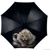 """Зонт с росписью """"Леопард"""""""