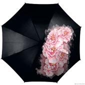 """Зонт с росписью """"Розовые пионы"""""""
