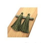 Кисточки для создания бижутерии зеленые