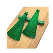 Кисточки для создания бижутерии ярко-зеленые