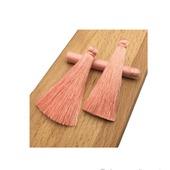 Кисти для создания серег персиковые