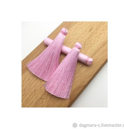 Кисточки для создания бижутерии розовые ручной работы на заказ
