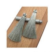 Кисточки для создания бижутерии серые