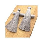Кисти для создания украшений серо-серебряные