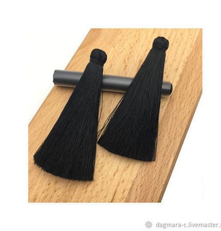 Кисти для создания бижутерии черные ручной работы на заказ