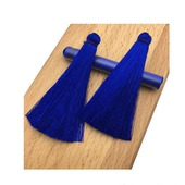 Кисточки для создания серег цвета ультрамарин
